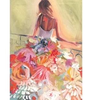 Flowery Dress 5x7|Calypso