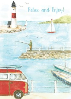 Lighthouse 5x7|Calypso