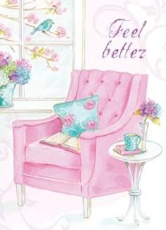 Pink Armchair 5x7|Calypso