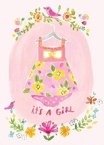 Pink Dress 5x7|Calypso