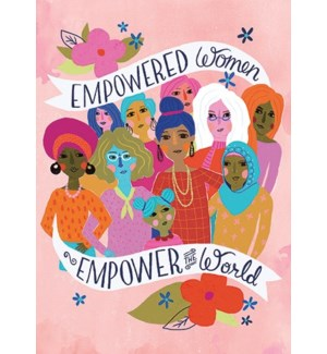 Empowered Women 5x7|Calypso