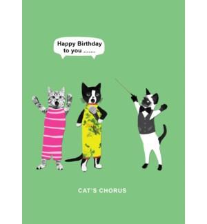 Cats Chorus|Calypso