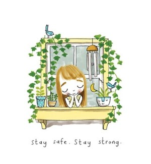 Stay Safe Stay Strong|Calypso