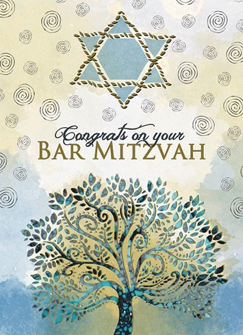 Tree Bar Mitzvah 5x7|Calypso
