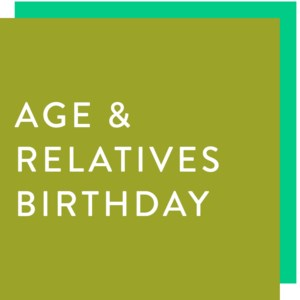Age and Relatives Birthday