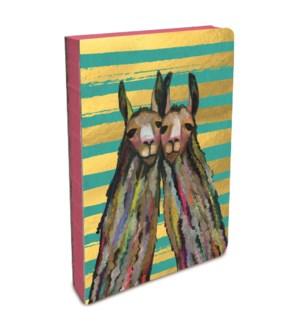 Coptic-Bound Journal Llama Twins