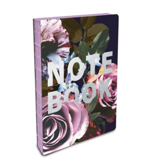 Coptic-Bound Journal Floral NOTE BOOK