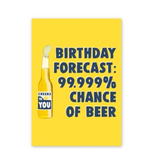Birthday Forecast Beer|Central 23