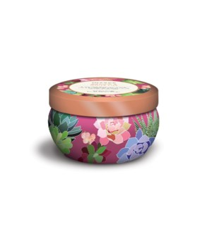 Orchid & White Lily Candle in Tin