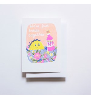Riso Card - Better Together Taco + Hot Sauce