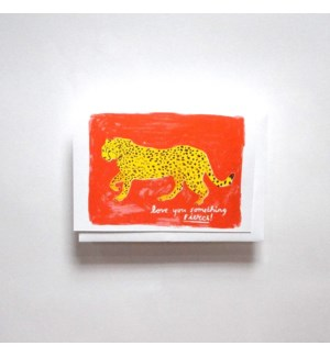 Riso Card - Love you Something Fierce