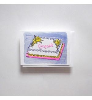 Riso Card - Congrats Cake
