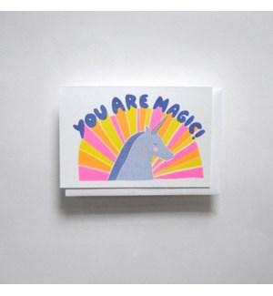 Riso Card - You are Magic