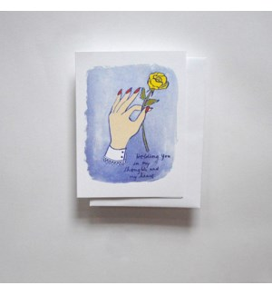 Riso Card - Holding You in my Thoughts