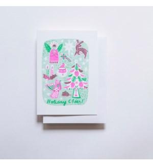 Riso Card - Holiday Cheer