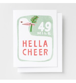 Riso Card - Hella Cheer