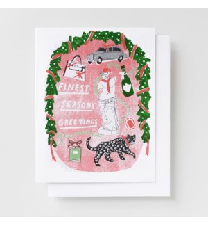 Riso Card - Finest Season's Greetings