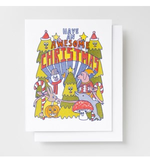 Riso Card - Awesome Christmas