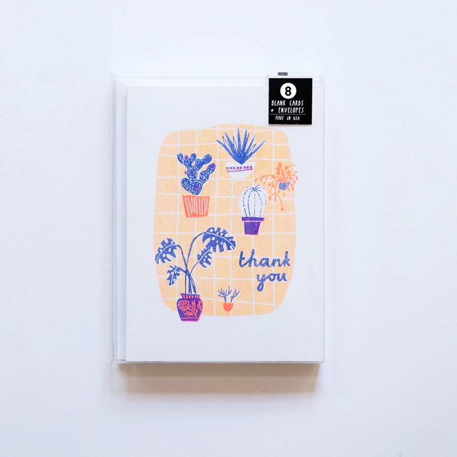 Riso Card Set - Many Thanks Plants