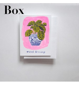 Riso Card Set - Merci Beaucoup Plant