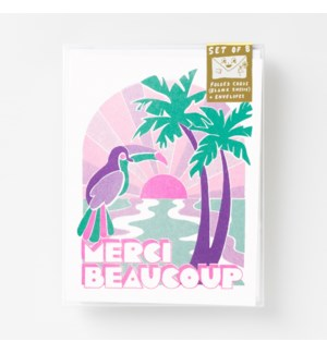 Riso Card Set - Tropical Merci Beaucoup