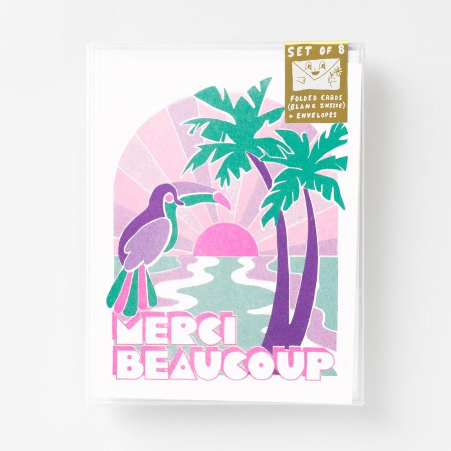 Riso Card Set - Tropical Merci Beaucoup