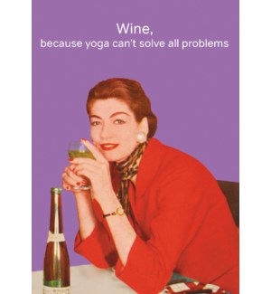 Wine Not Yoga|Cath Tate Cards