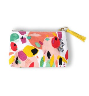 Flourish & Dots Triangle Pouch