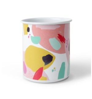Flourish & Dots Pencil Cup