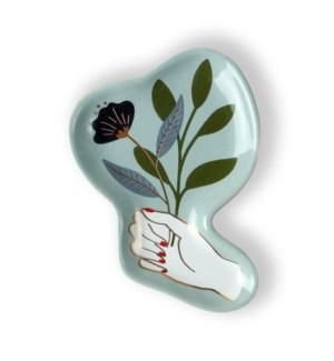 Hand Picked Ceramic Trinket Tray