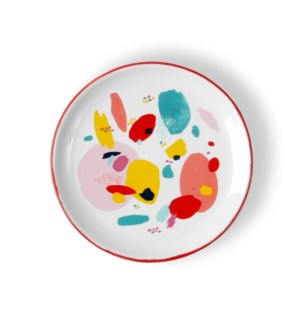 Flourish & Dots Ceramic Trinket Tray