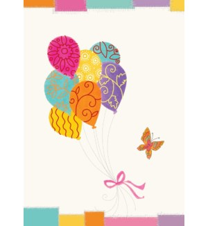 Balloons 5 x7|Designer Greetings
