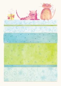 Animal Cat 5 x7|Designer Greetings