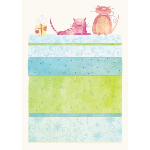 Animal Cat 5 x7|Designer Greetings