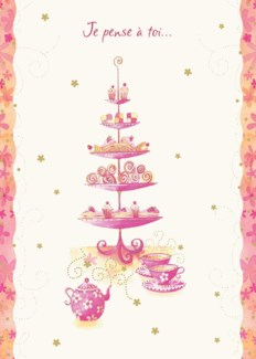 Tea & Treats 5 x7|Designer Greetings