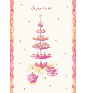 Tea & Treats 5 x7|Designer Greetings