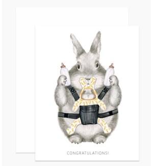 Congrats Bunny 4.25x5.5 |Dear Hancock