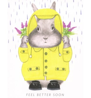 Feel better soon bunny|Dear Hancock