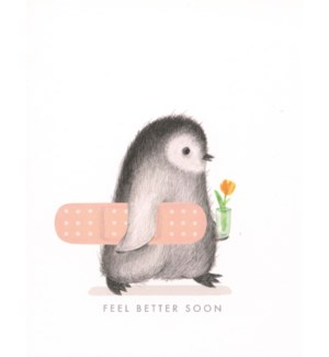 Feel better penguin|Dear Hancock