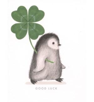 Good Luck Penguin Dear Hancock