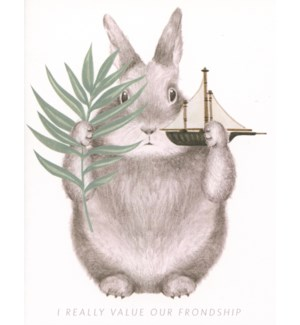 Friendship bunny|Dear Hancock