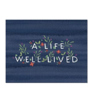 A Life Well Lived Dear Hancock