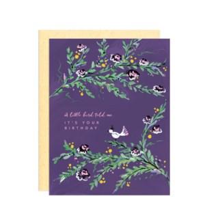 Little Birdy Birthday|Darling Lemon