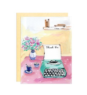 Thank you Typewriter|Darling Lemon