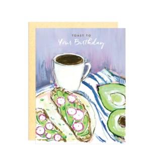 Toast To Your Birthday|Darling Lemon