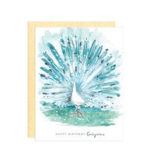 Birthday Peacock|Darling Lemon