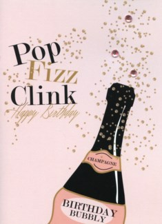 Birthday Bubbly 5x7|Designs By Maria