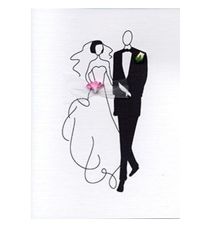 Bride & Groom 5x7|Designs By Maria