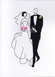 Bride & Groom 5x7|Designs By Maria