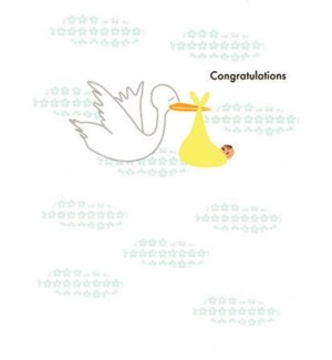 Congrats Stork 4.25x5.5|Designs by Val